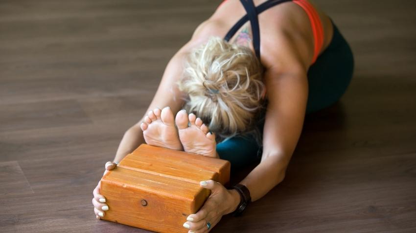 Iyengar-yoga-übung