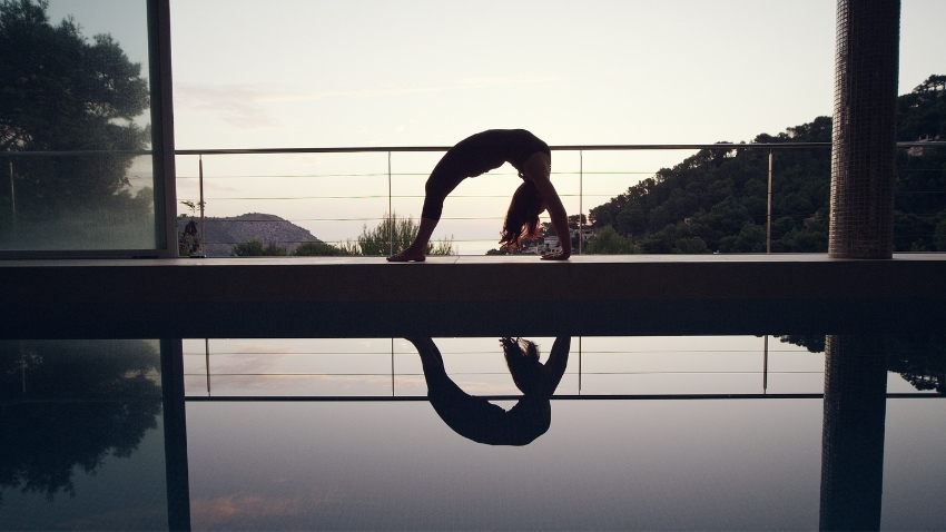 Vinyasa Yoga Übung